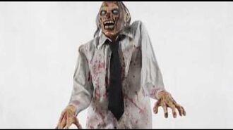 Animated Lurching Zombie - Spirit Halloween