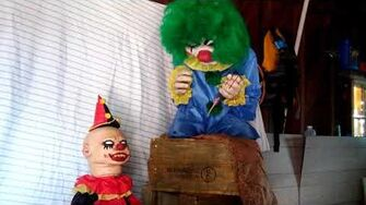 Halloween Animated Bite Sized Clown