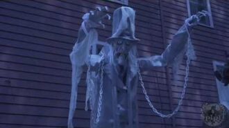 7FT Towering Chained Ghost - Spirit Halloween