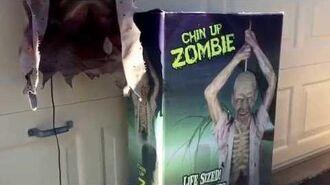 Spirit Halloween Chin Up Zombie