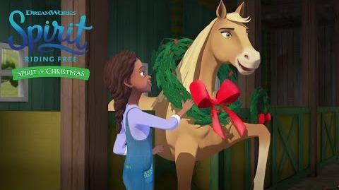 Spirit of Christmas Promo SPIRIT RIDING FREE