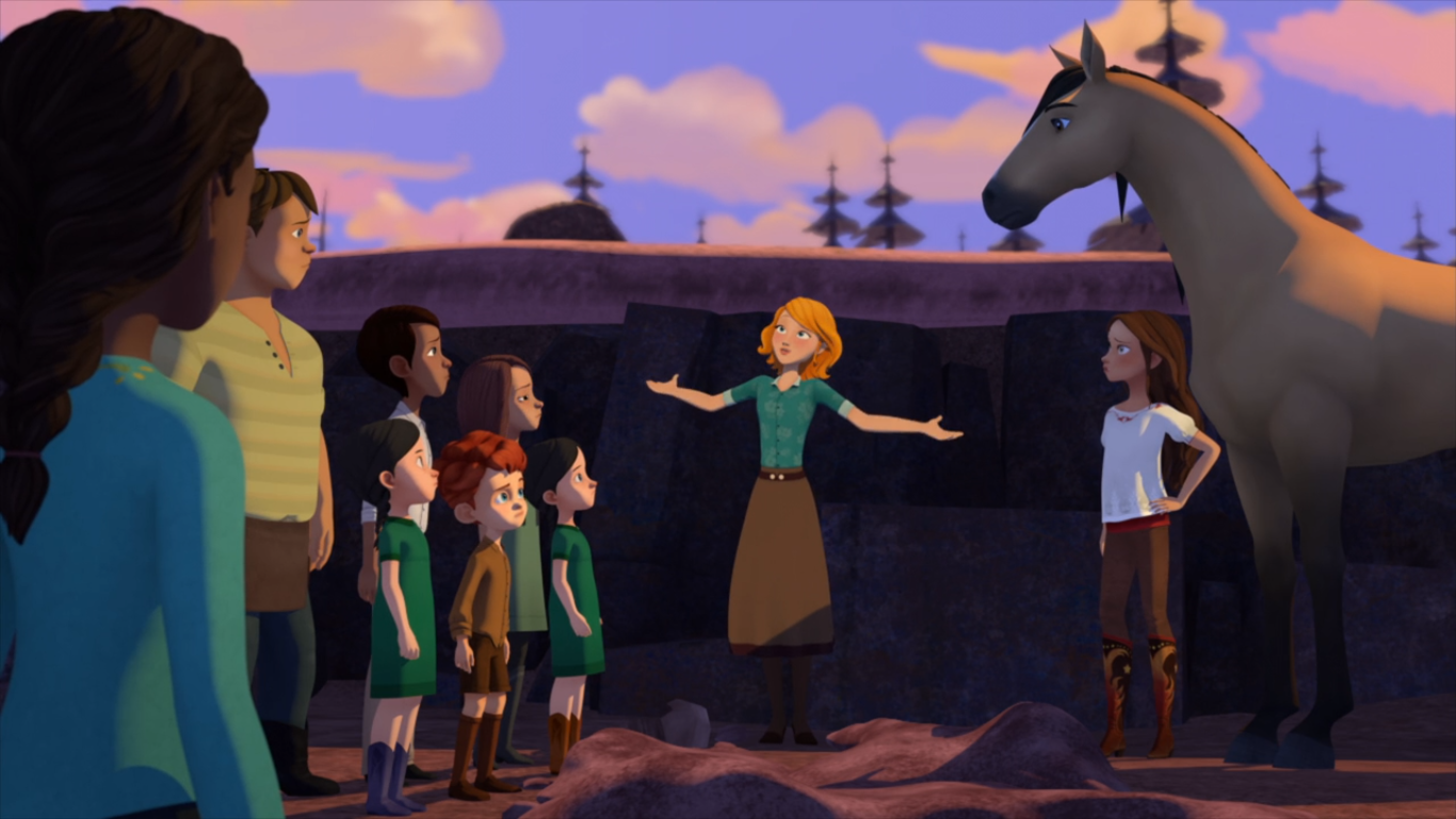 Lucky And The Field Trip Fraud Spirit Riding Free Wiki Fandom