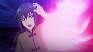 Magic aimed at Keika