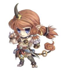 Female fighter spirit