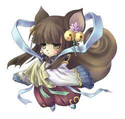 Female sorcerer spirit