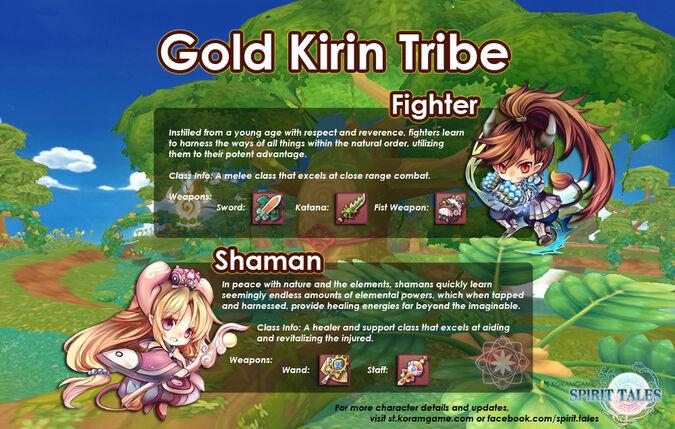 Gold kirin tribe