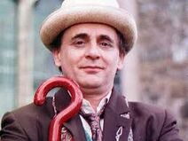 The real Sylvester Mccoy 7th Doctor