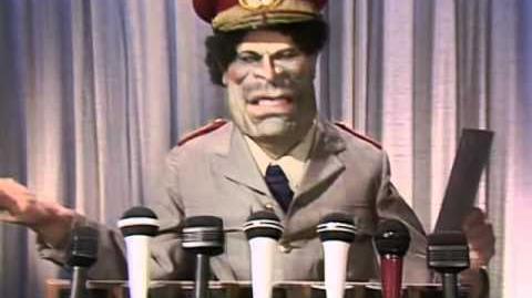 Gaddafi gets blown up