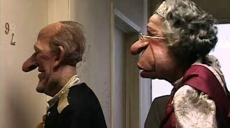 Spitting Image Royal Family lose fortune in recession & move to council flat