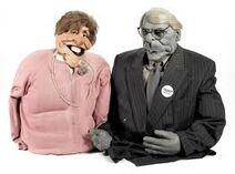 John and Norma Major