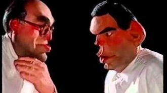 Spitting Images - John Smith and Gordon Brown in Smith + Jones take off