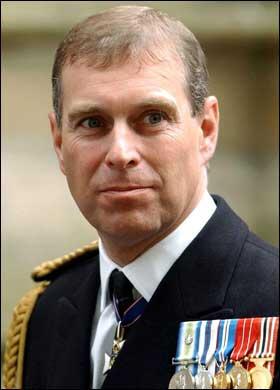 The real Prince Andrew aka The Duke of York
