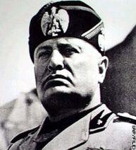 The real Benito Mussolini