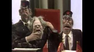 Spitting Image- Chernenko's first speech as Chairman of Mother Russia !!!
