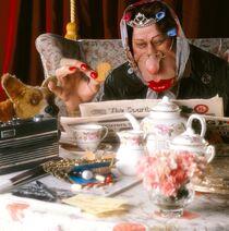 Spitting-image-1984-1996-009-the-queen-having-tea