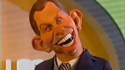 Tony Blair Spitting Image