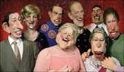 Spitting image The Royal Family