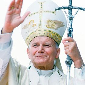 The real Pope John Paul II