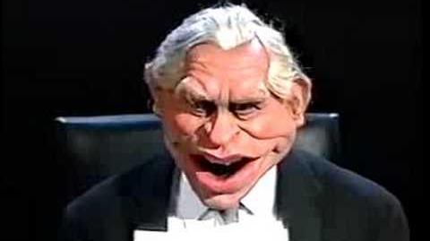 George Bush on Mastermind (spitting Image)