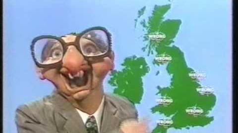 Spitting Image - Ian McCaskill Weather Wrong