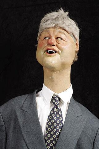 Image Bill Clintonjpg Spitting Image Wiki FANDOM Powered By - Wikipedia bill clinton