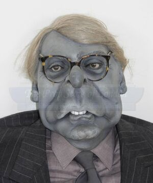John Major's famous grey and dull puppet