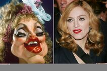 Madonna and her puppet