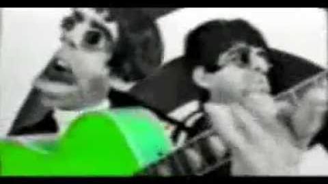 Spitting Image - Oasis Parody