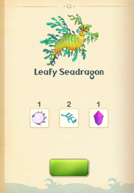 Leafy Seadragon§Aquapedia