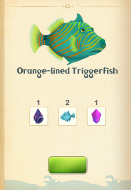 Orange-lined Triggerfish§Aquapedia