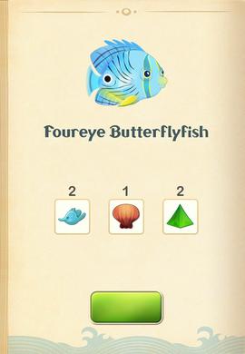 Foureye Butterflyfish§Aquapedia