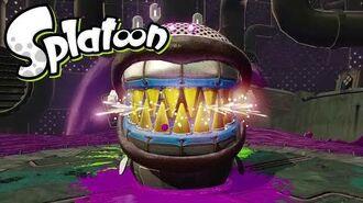Splatoon(スプラトゥーン) ヒーローモード ボス戦4 「タコツボファング」