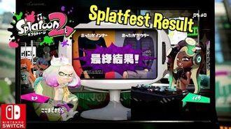 Nintendo Splatoon 2 Splatfest Final Result Warm Inner VS Warm Outer Uniqlo