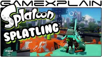 Splatoon - Heavy Splatling Weapon in Splat Zones (August Update - 60fps)