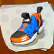 Shoes Orange Arrows