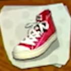 Shoes Red Hi-Tops