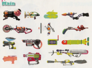 Concept Art - Main Weapons