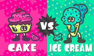 Cake vs Ice cream