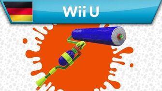 Splatoon - Waffenanalyse Klecksroller (Wii U)