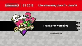 Splatoon 2 World Championship Opening Rounds 6.11.2018
