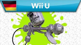 Splatoon - Waffenanalyse Airbrush MG (Wii U)