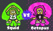 S2 Splatfest Squid vs. Octopus