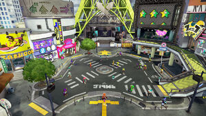 Splatoon hub world