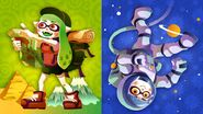 European Splatfest World Tour vs Space Adventure