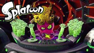 Splatoon(スプラトゥーン) ヒーローモード ボス戦5 「タコツボキング」