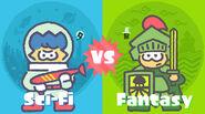 Sci-Fi vs Fantasy