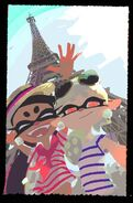 Squid sisters paris