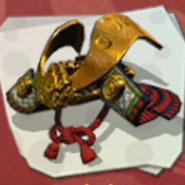 Headgear Samurai Helmet