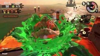Splatoon 2 Salmon Run Escaping Maws