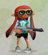 Retro specs + mint tee + squid-stitch slip-ons